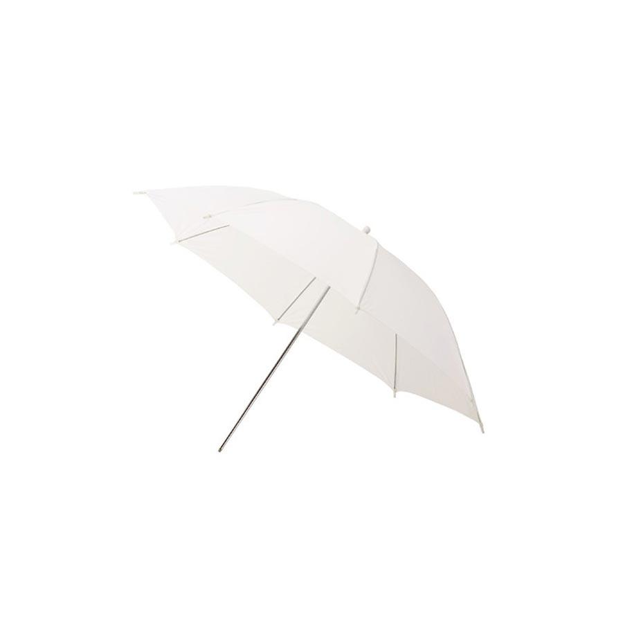 Jinbei ομπρέλα Λευκή Ημιδιαφανής 150cm. Η ομπρέλα για φλας είναι το ιδανικό εξάρτημα για φωτογραφήσεις πορτραίτου. Η ομπρέλα παράγει ιδεώδη φωτισμού του φόντου σε λήψεις πορτραίτου αλλά και σε άλλες εφαρμογές.