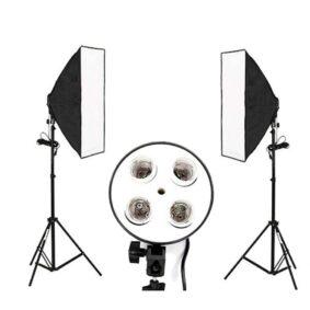 Luminus σετ φωτιστικών φωτογραφίας βίντεο & φόντο