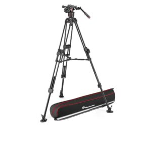Manfrotto Nitrotech 608 and 645 Fast Twin Alu
