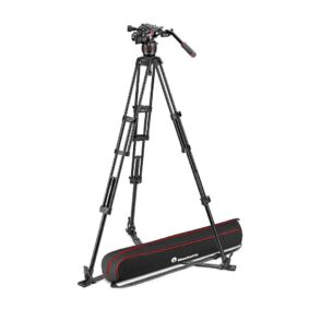 Manfrotto Nitrotech 608 and alu twin leg gs