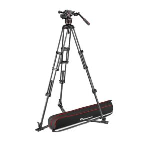 Manfrotto Nitrotech 608 and CF twin leg gs