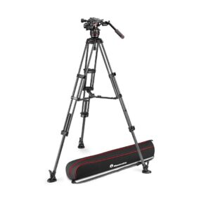 Manfrotto Nitrotech 608 and CF twin leg ms