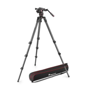 Manfrotto Nitrotech 608 and 536 CF Tall Single Legs