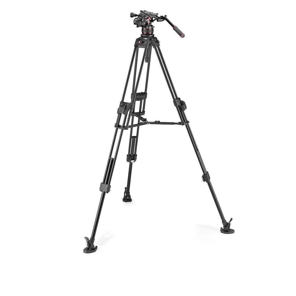 Manfrotto Nitrotech 612 and 645 Fast Twin Alu