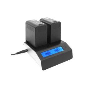 Luminus διπλός φορτιστής NP-F