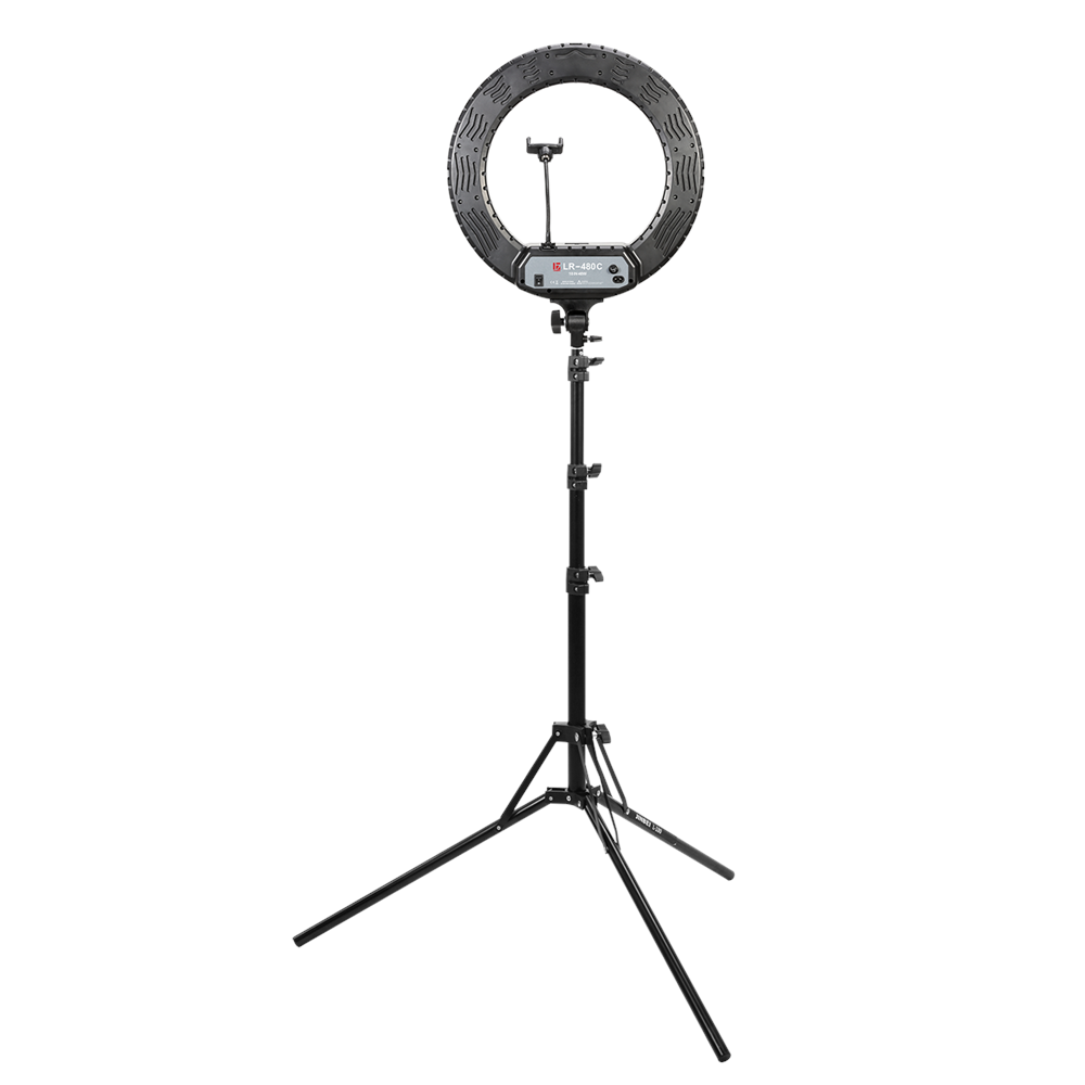 Jinbei LR 480 Ring LED with Tripod and Smartphone holder