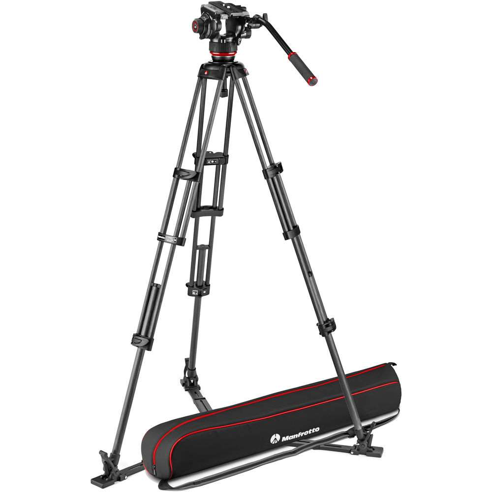 Manfrotto 504X & CF Twin GS