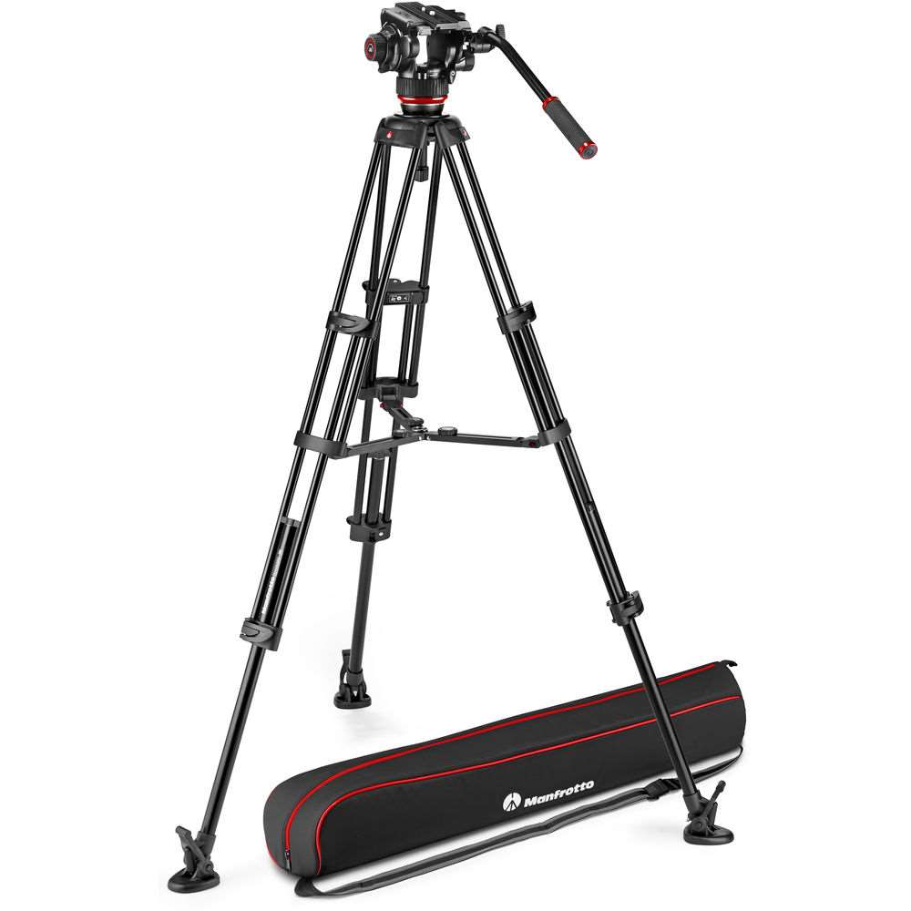 Manfrotto 504X & Alu Twin MS