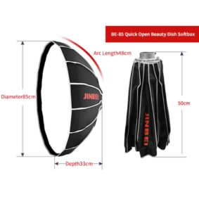 Jinbei BE Quick Open Beauty Softbox 85cm