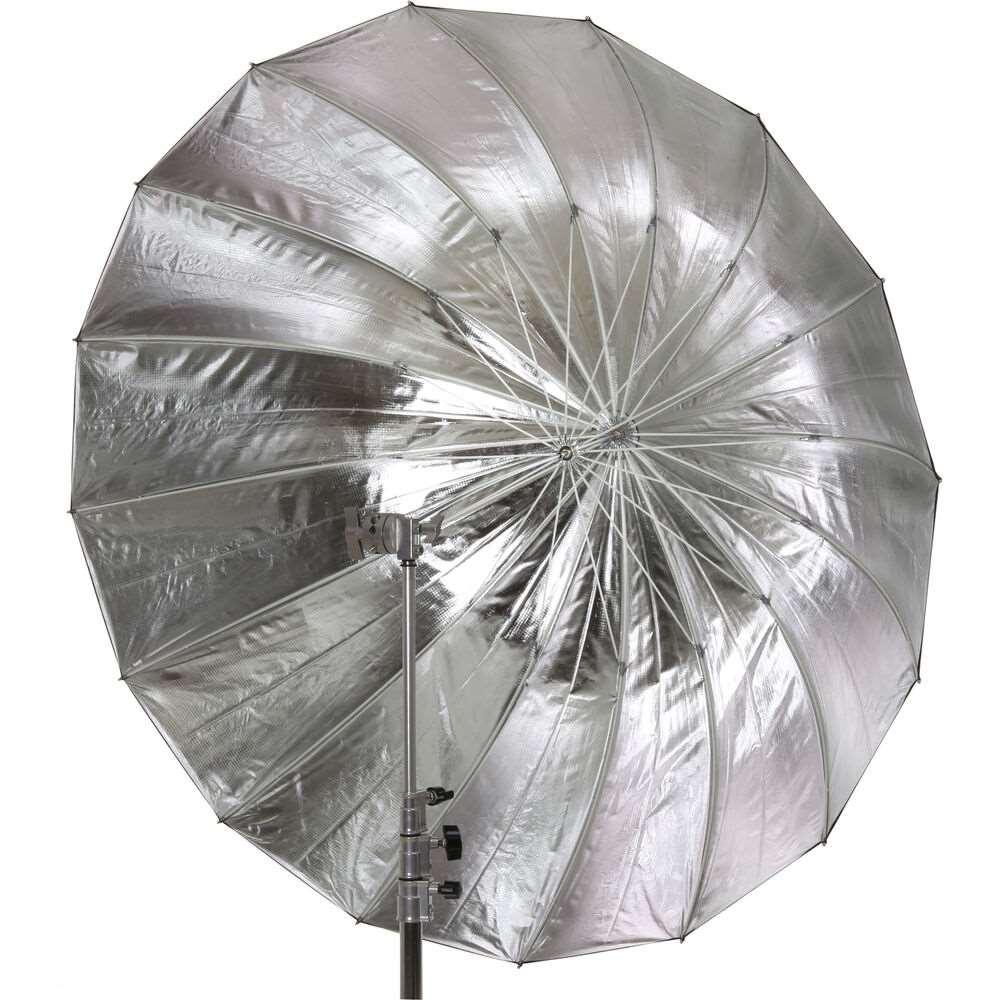 Jinbei Deep Focus Umbrella, Ασημί/Μαύρη, 130cm