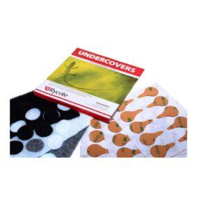 Rycote μαξιλαράκια πέτου Undercovers σετ 30