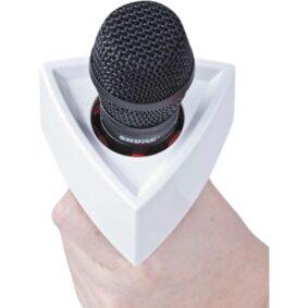 Rycote τρίγωνο flag μικροφώνου λευκό